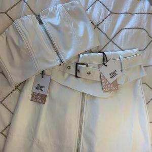 Tiger Mist Skirt and Bandeau Set